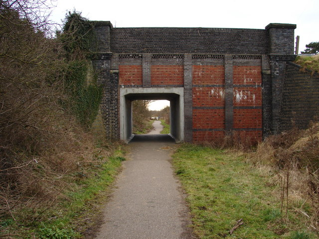 Road bridge near Harby