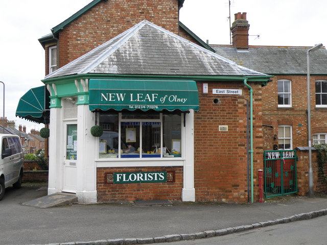 New Leaf florists, Olney