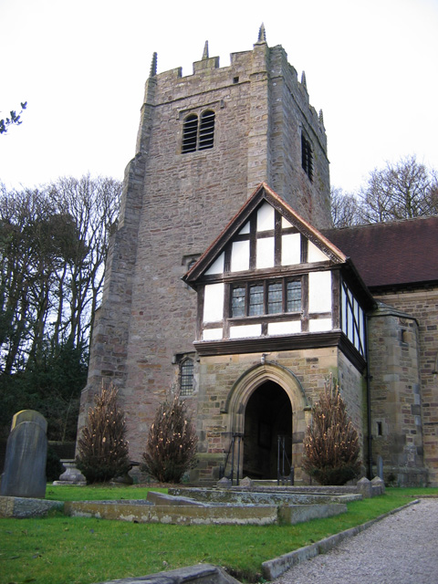 St Wilfred's church, Halton