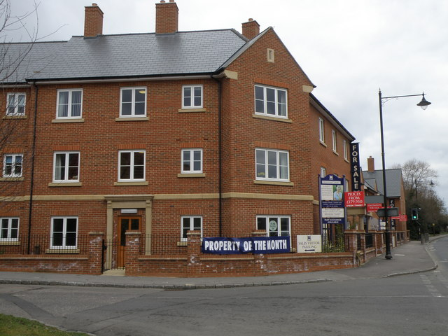 New Housing on the Wellingborough Road