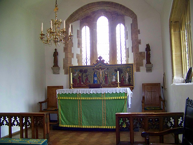 Interior, St Laurence's Church, Affpuddle