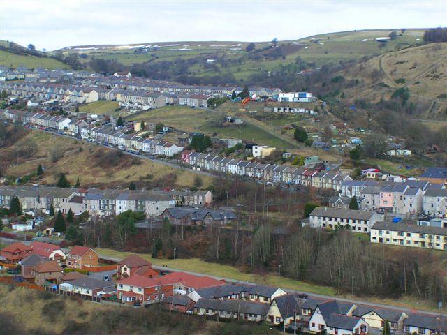 Looking towards Phillip's Town