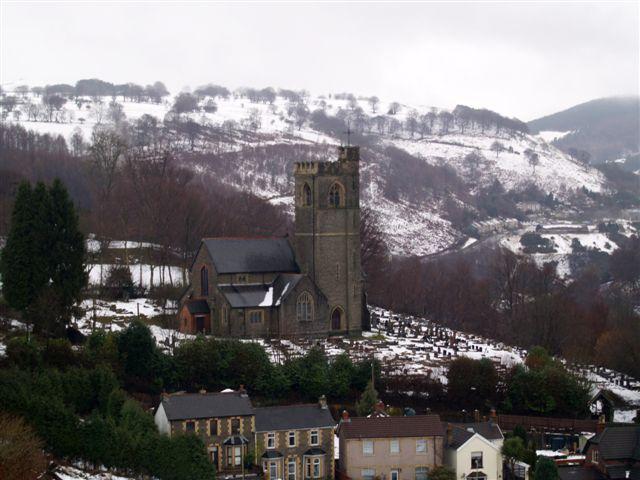 Aberbeeg church