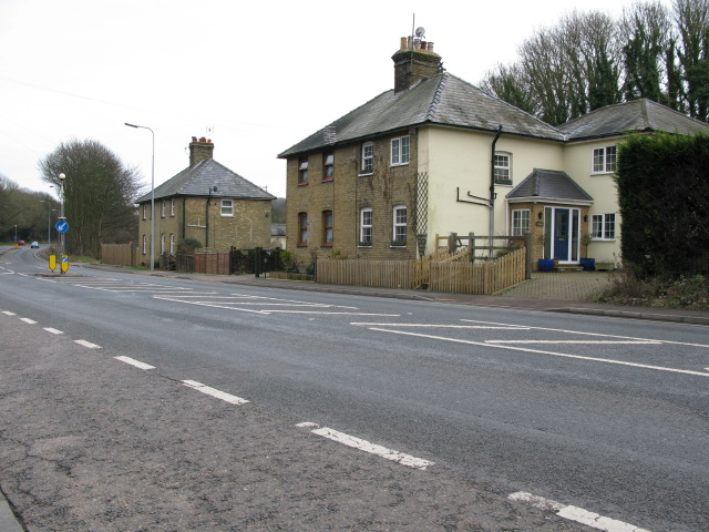 Farthingloe Cottages on Folkestone Road