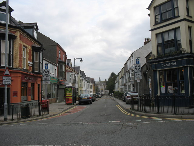 College Road from Holyhead Road