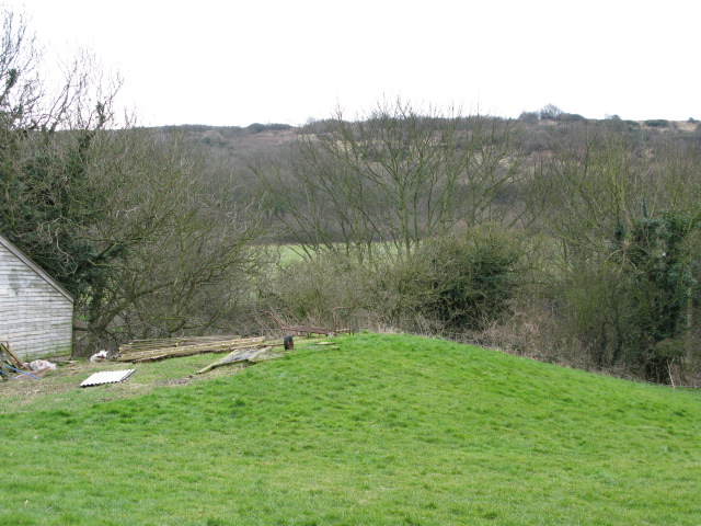 View of Long Hill from Little Farthingloe