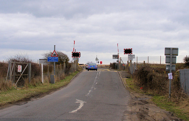Pevensey Sluice Railway Level Crossing