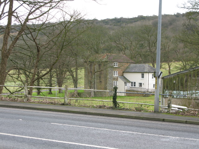 Farthingloe Farm from Folkestone Road