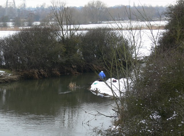 Fisherman on the River Soar
