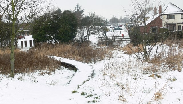 Icy boardwalk to the Kingsway