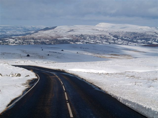 Snow on the moor
