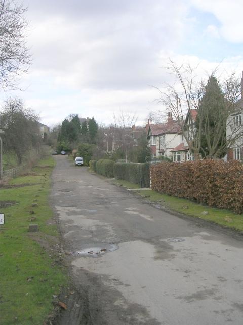 Cooper Road - Crossley Street