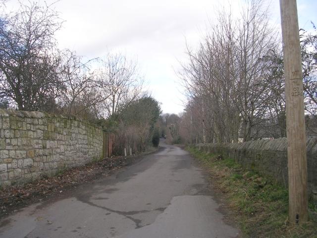 Bridleway - Quarry Hill Lane - Crossley Street