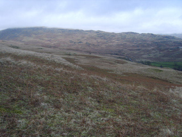 Looking towards Whillan Beck