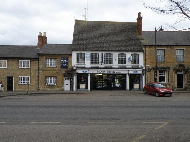 Ford Garage in Olney High Street