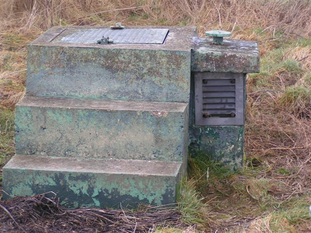 Disused bunker