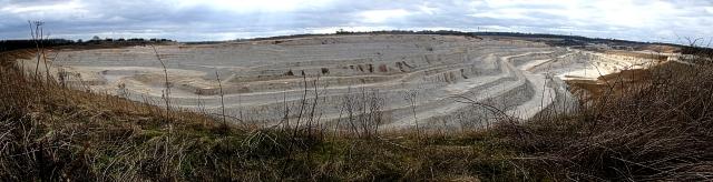 Kensworth Chalk Quarry Panorama
