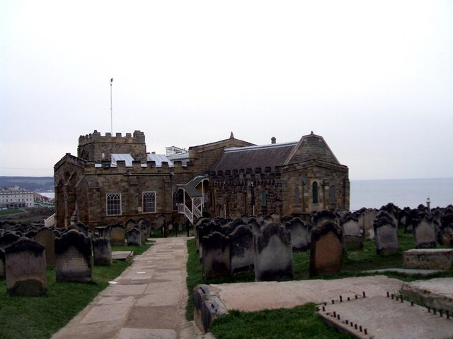 The Church of St Mary The Virgin, Whitby