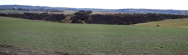 Coombe Hole panorama