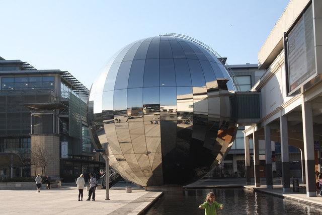 Planetarium, central Bristol