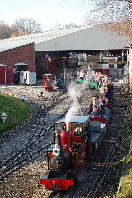 Moors Valley Railway, Moors Valley Country Park, Dorset