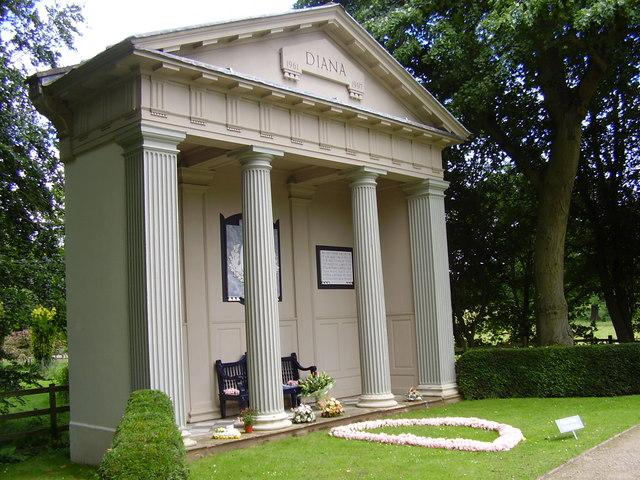 The Diana, Princess of Wales, Memorial