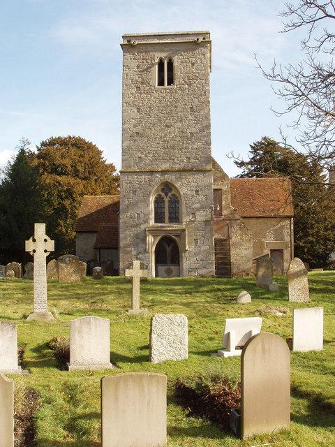 Holton church and churchyard