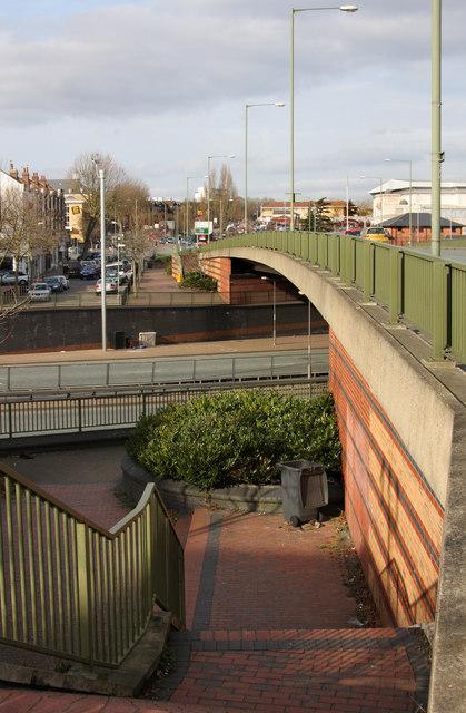 Bridge Over The A406