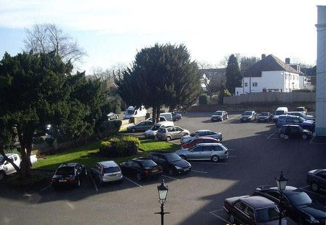 Bromley Court Hotel carpark