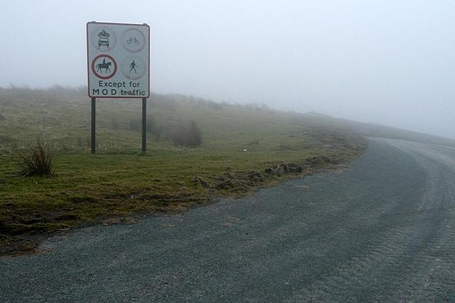 On Mynydd Bwlch-y-Groes