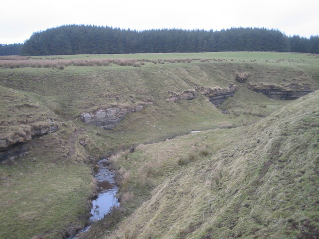 Glenmuir Burn - tributary of Glenmuir Water
