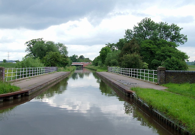 Aqueduct at Brindley Bank, Rugeley, Staffordshire