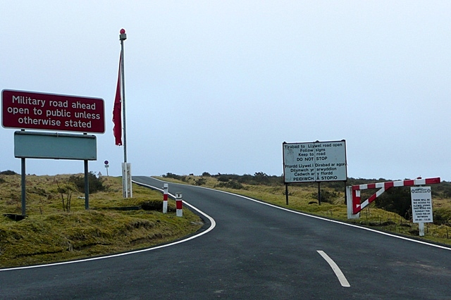 Tirabad to Llywel road