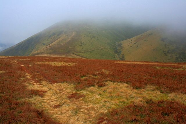 Blencathra in the Clouds