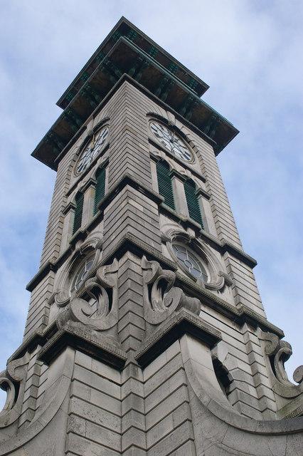 Market Clock Tower, Caledonian Park, Islington
