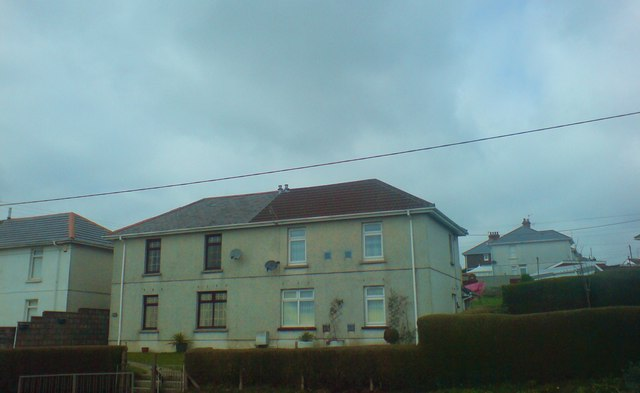 Former council houses with great views