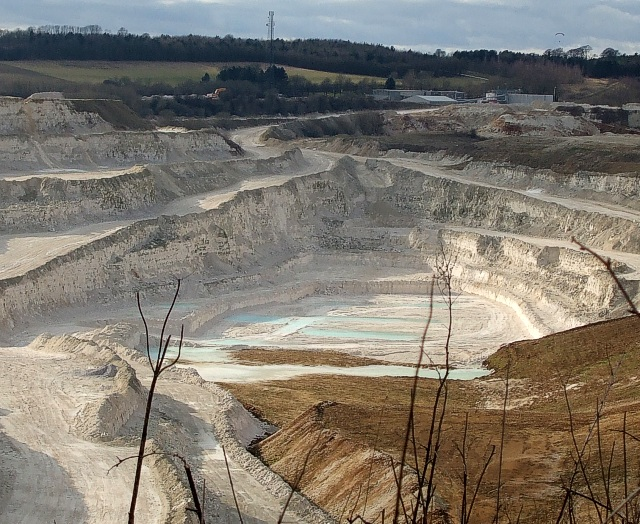 Kensworth Quarry - deepest level