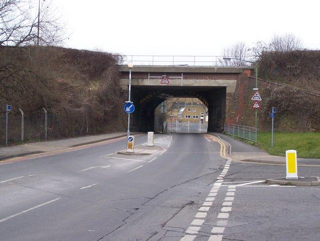 Railway Bridge over Overy  Street