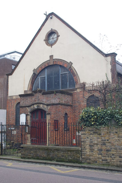 Spiritualist Temple, Rochester Square, Camden, London NW1