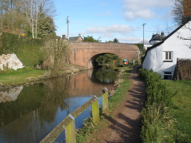 The Grand Western Canal, at Sampford Peverell