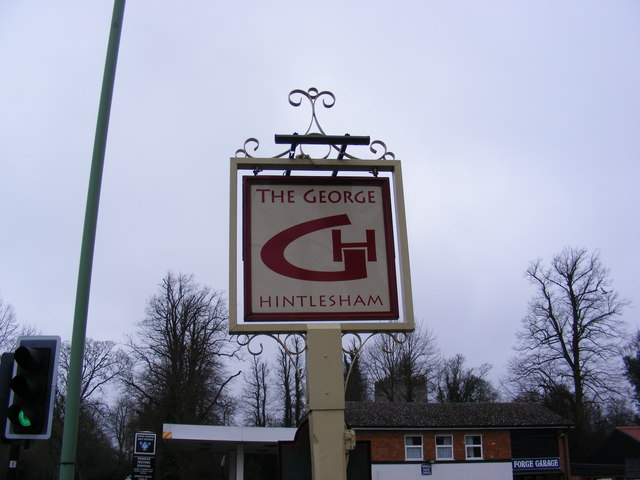 The George Public House Sign, Hintlesham