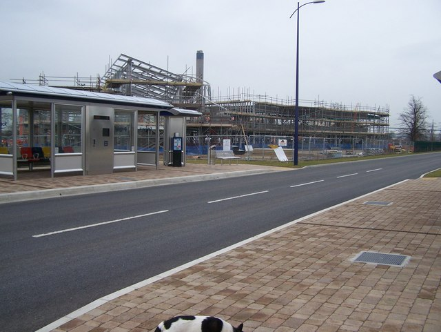 Fast Track bus Station and new construction