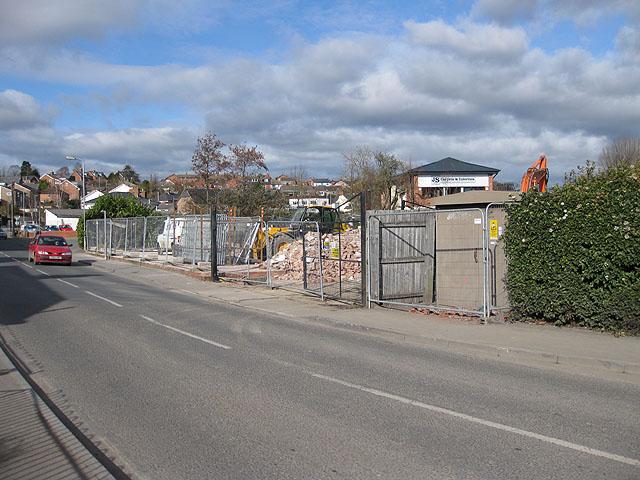 Demolition site, Millpond Street