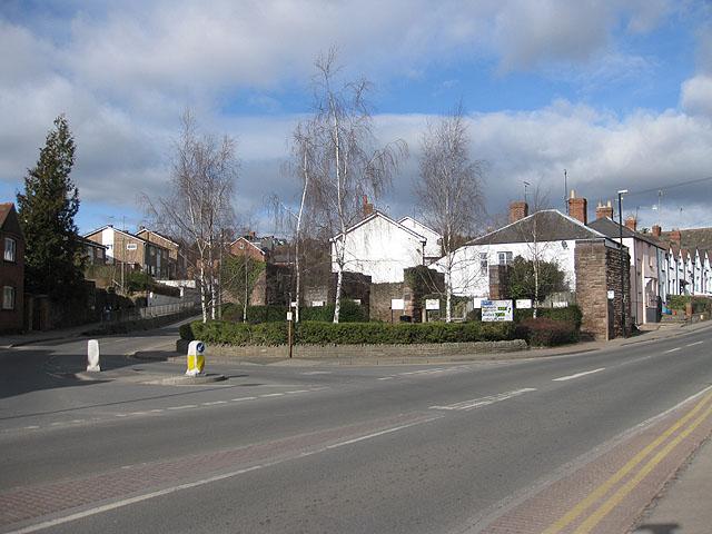 Brampton Street meets Over Ross Street
