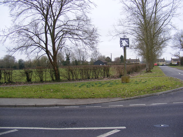 Hintlesham Village Sign