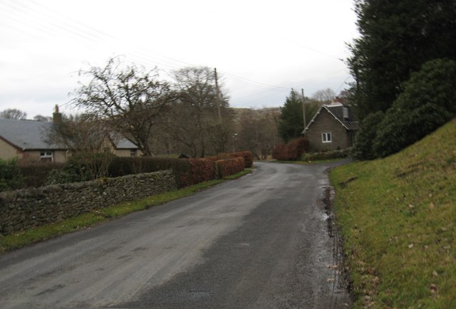 Glenkinnon Cottage sits on a bend in the road