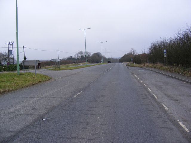 The former A12 London Road