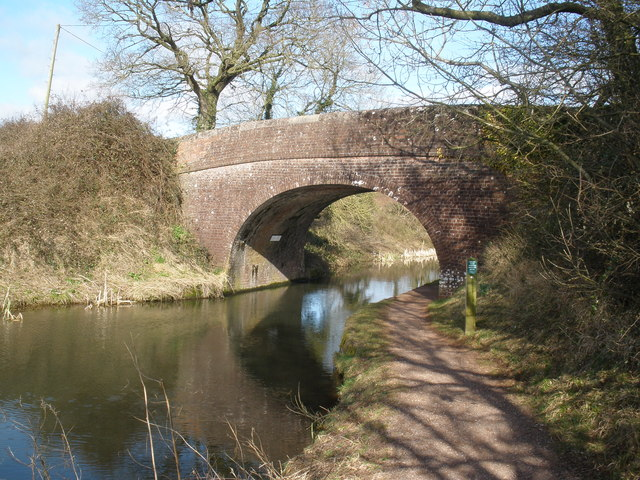 Battens Bridge, on the Grand Western Canal