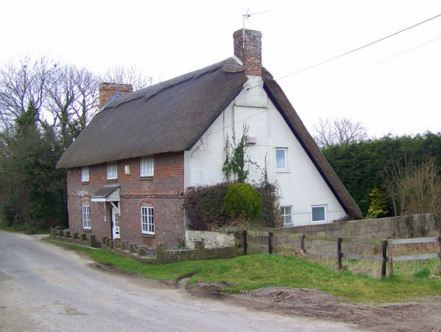 Thatched cottage, Affpuddle