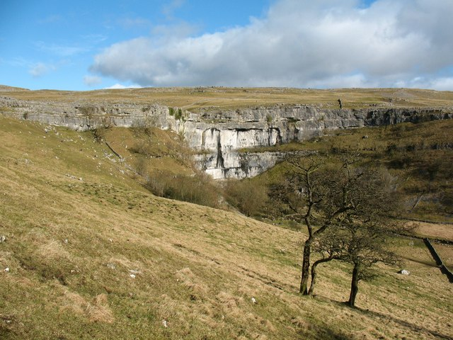 Looking to Malham Cove